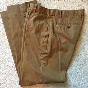 Brown khaki pants; excellent condition